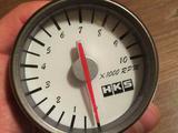 Тахометр HKS Style Белое табло 60 мм